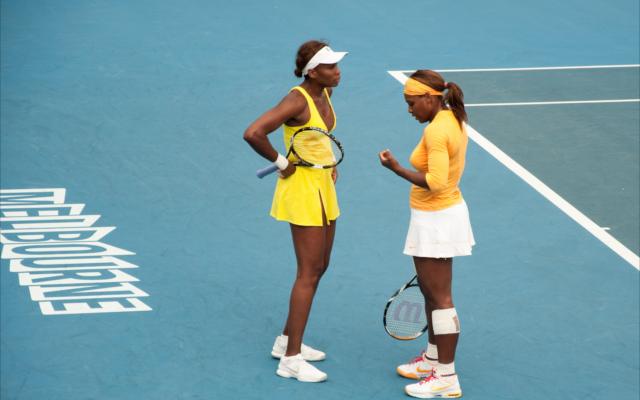 sibling gin williams tennis sisters