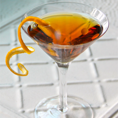 leap year martini cocktail gin