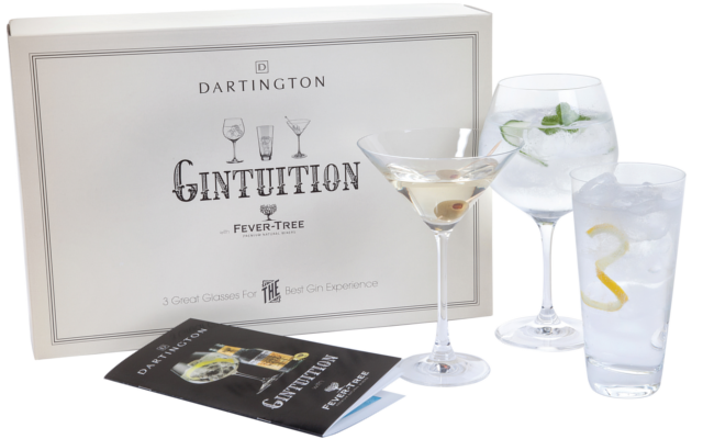 gintuition glasses dartington