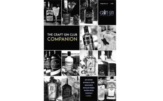 craft gin club companion