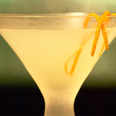 Breakfast martini orange gin