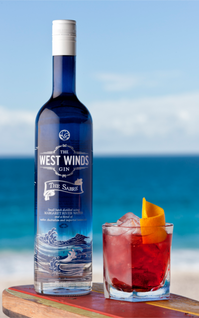 west winds gin negroni cocktail