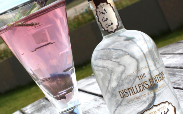 distillers edition rock and rose gin