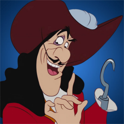 captain hook pirate