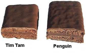 tim tam penguin