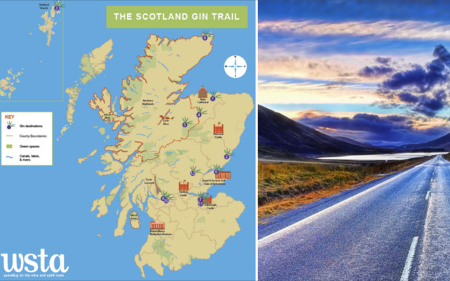 Scotland gin trail distilleries