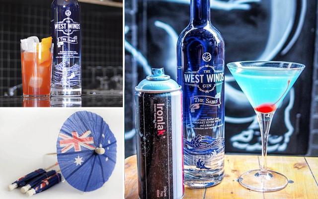 aussie day cocktails westwinds gin