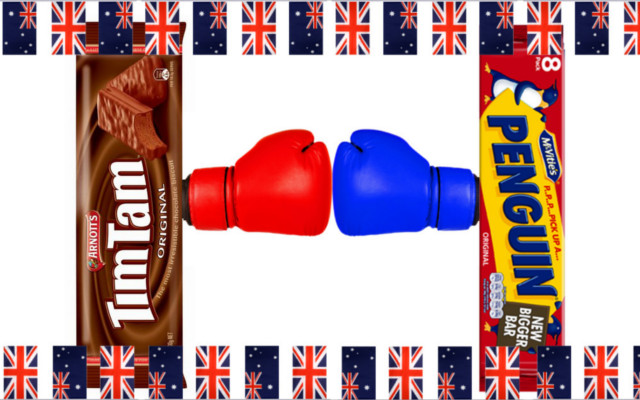 tim tam penguins biscuits australia