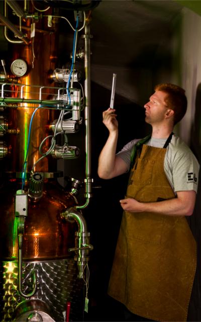 Master Distiller David Wilkinson.