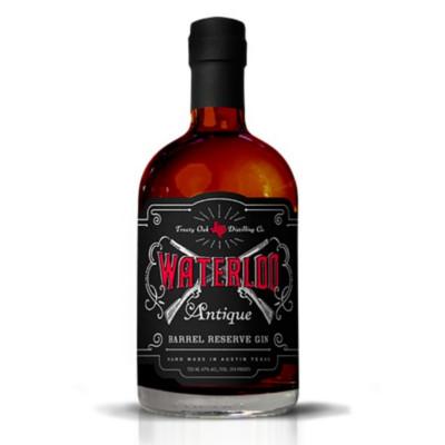 waterloo antique barrel reserve gin
