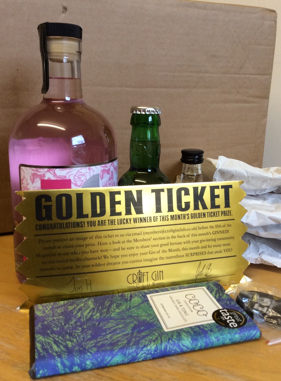 golden ticket winner edinburgh gin valentines history
