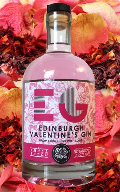 edinburgh gin valentines history