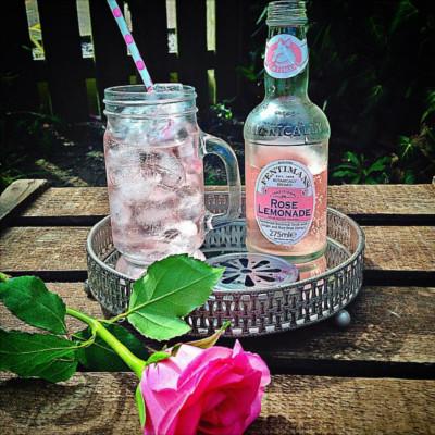 Edinburgh gin valentines rose lemonade fentimans