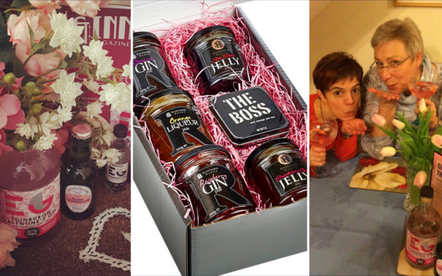 edinburgh gin rose valentines