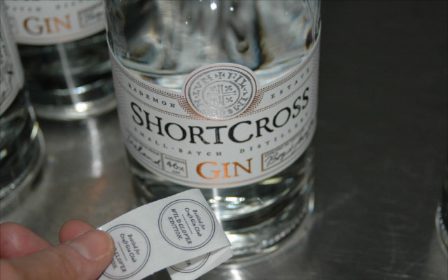 craft gin shortcross gin