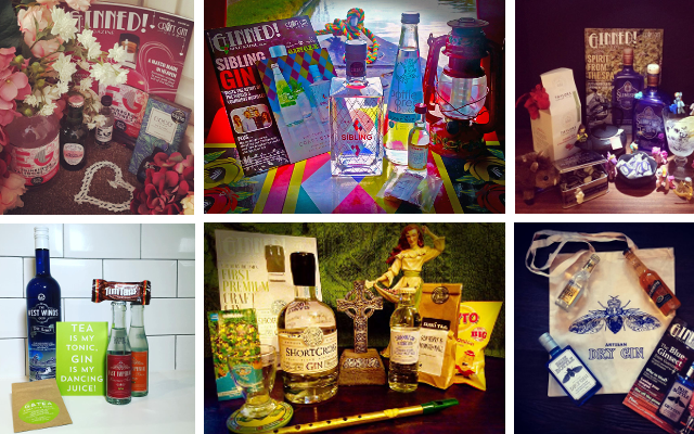 surprise box of gin craft gin club