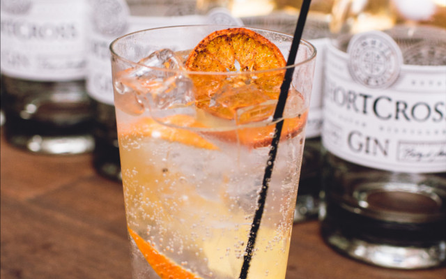 Orange peel features in Shortcross Gin's botanicals - and its perfect G&T serve....