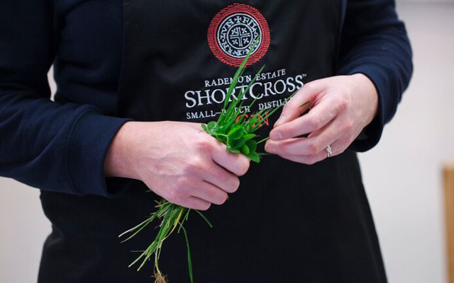 Shortcross Gin is made with foraged ingredients.