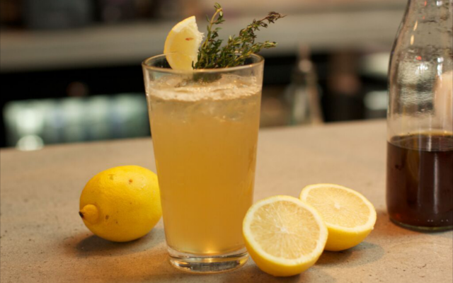 Time for a #ShortcrossThyme cocktail