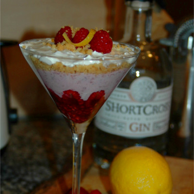wild clover club shortcross gin cheesecake martini