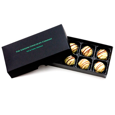 london chocolate co gin and tonic truffles