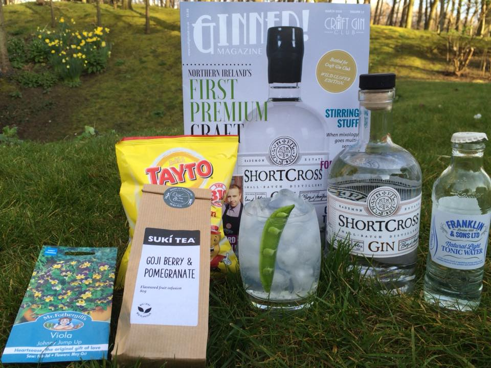 Craft Gin club shortcross gin