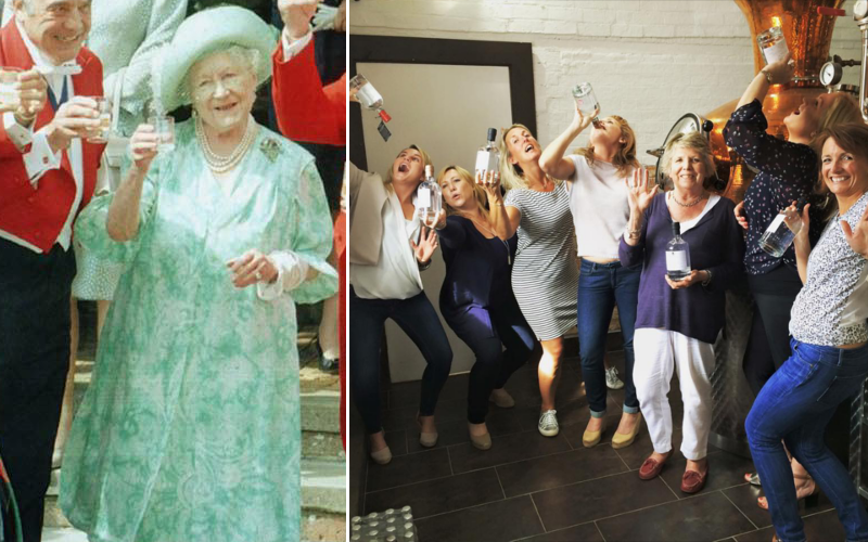 Queen Mother to friends and family gin club members