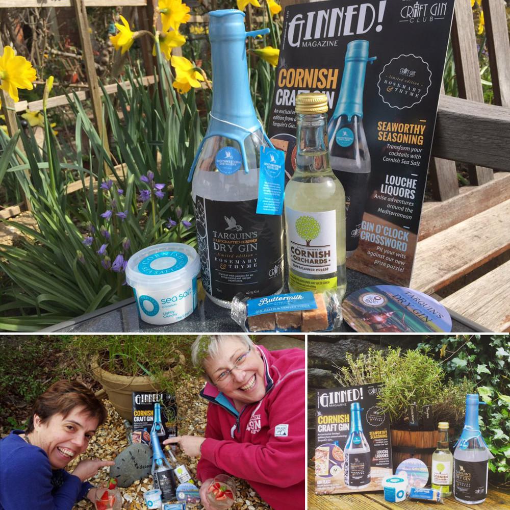 Tarquin gin pic garden