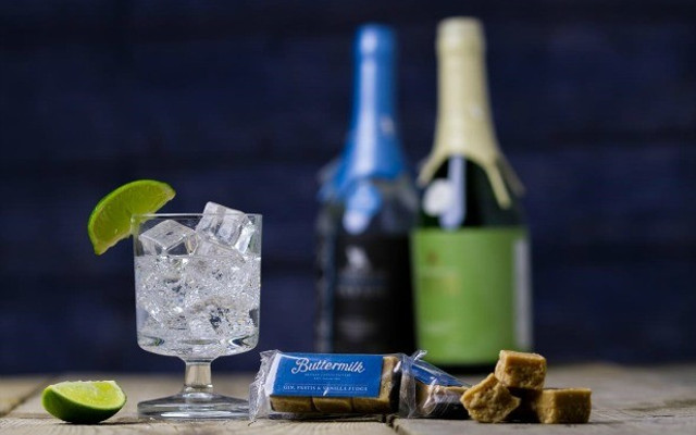 Fudge and tarquin gin
