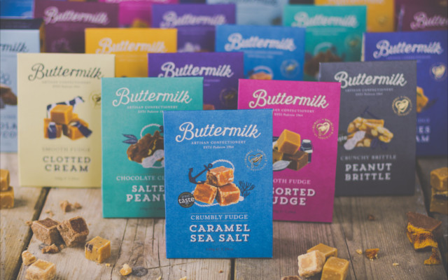 The Buttermilk sharing box range.