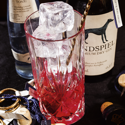 windspiel gin betterave rouge tonic spirit cocktail