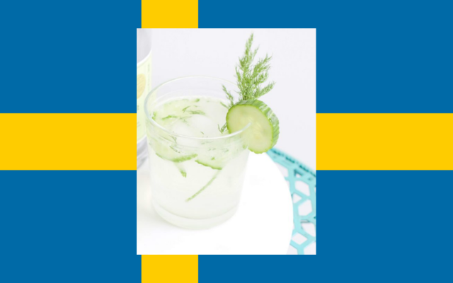 Dill Dall sweden cocktail drink