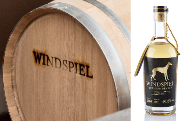 windspiel oak barrel gin