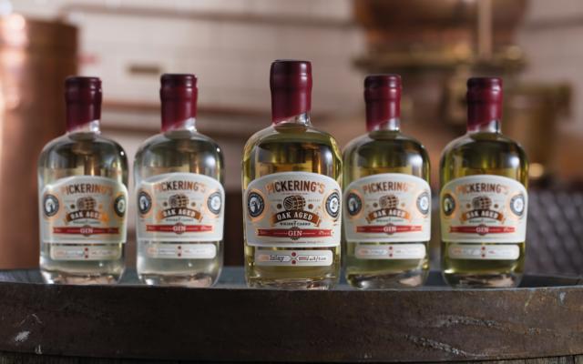 oak aged winspiel gin