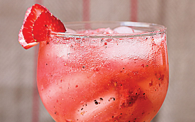 revamp your cocktail strawberry