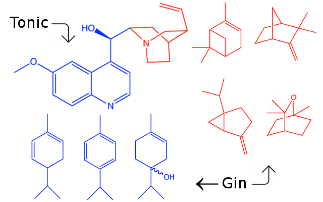 tonic and gin science atoms molecules