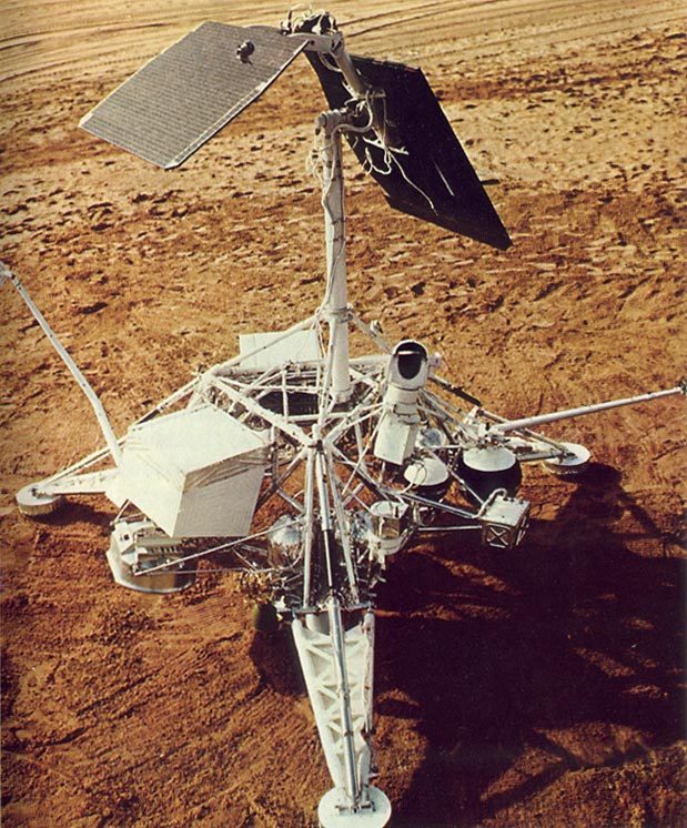 surveyor 1 on the moon's surface