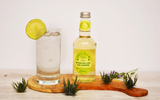 sparkling tonic lime and jasmine