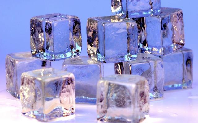 ice cubes gin martini