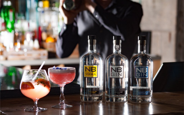 NB gin navy strength original and vodka selection cocktails