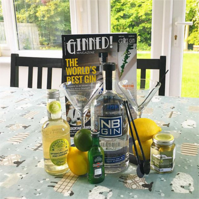 NB gin and tonic lemon