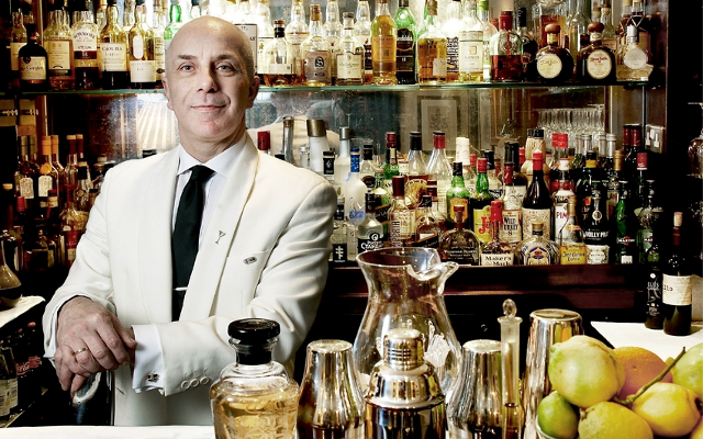 Alessandro palazzi martini master dukes bar NB gin