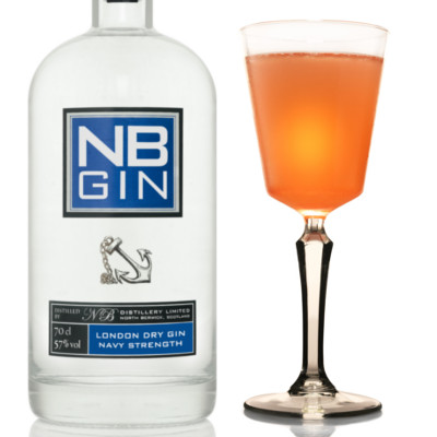NB gin navy strength b's knees bees cocktail