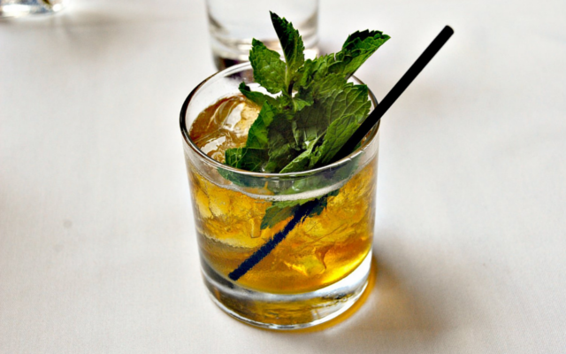 The Kentucky Derby Mint Julep cocktail