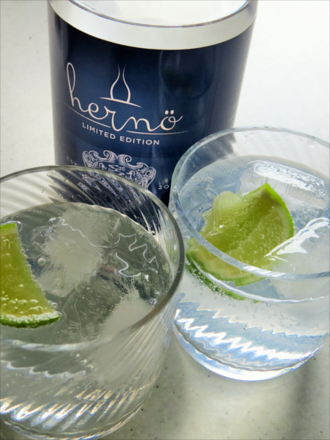perfect herno gin and tonic g&t