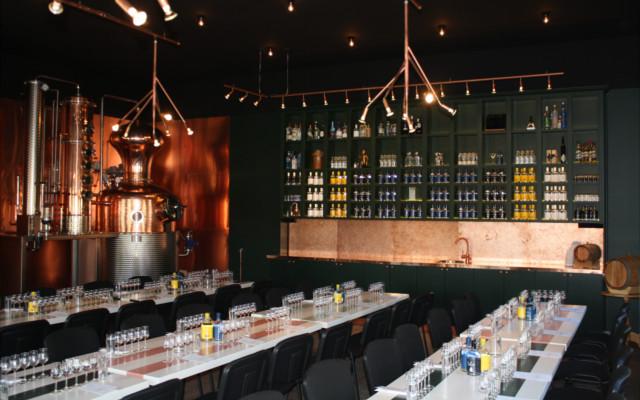 Hernö Distillery visitor's centre.
