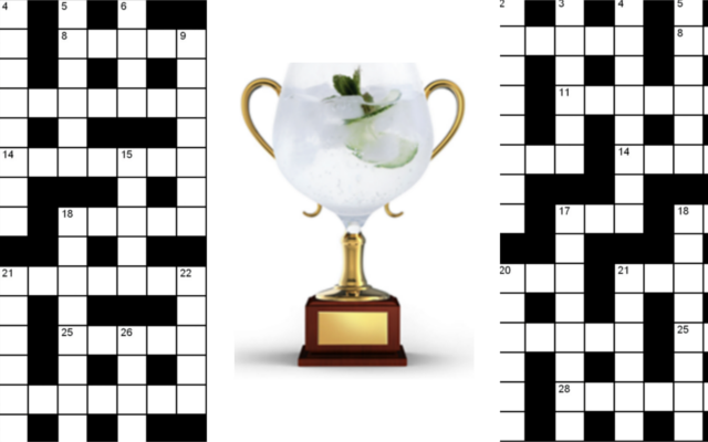 june crossword champion gin copa glass winner