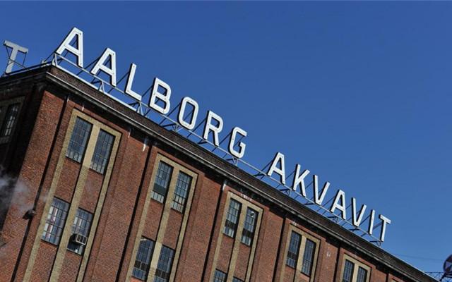 Aalborg akvavit factory