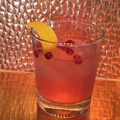 Herno Lingon gin cocktail