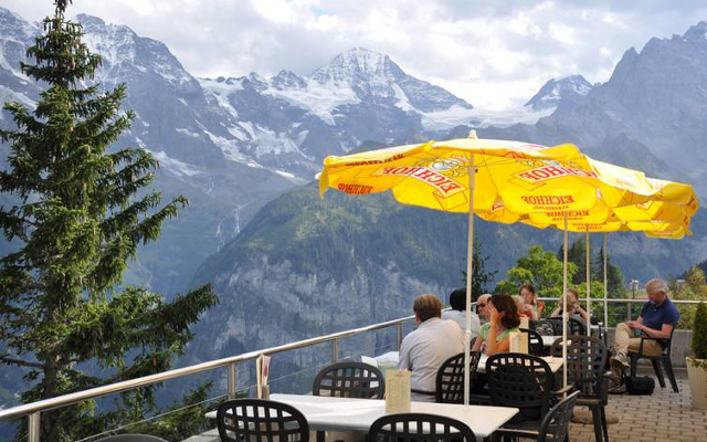 hotel edelweiss murren switzerland  gin and tonic bar